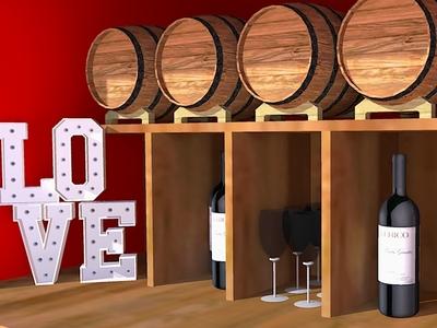 My 2nd Sketchup work - Interior of Piaggio Van 3d model piaggio wine bar interior design sketchup