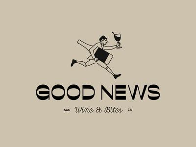 Good News Wine Logo Option