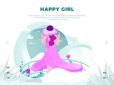 Happy Girl illustration