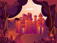 Warrior House Illustration