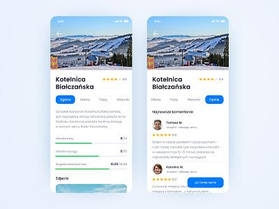 Skipass flat minimal ux mobile app mobile ui design app