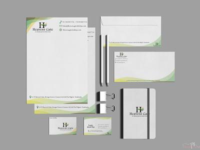 the ultimate getaway branding pack vector tagline design logo brochure layout book cover visiting card design branding