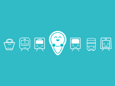 Navibaby transport icons