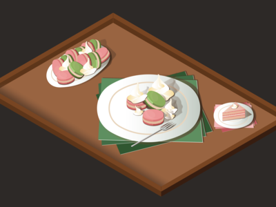 Let them have cake • Isometric