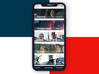 TV Series app prototype