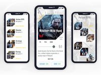 Video games recommendation app