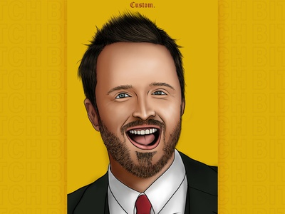 Aaron Paul Digital Art