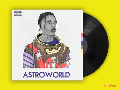 Astroworld redesign cover