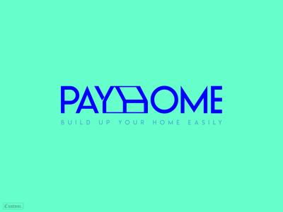 Payhome typographic logo