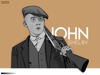 John Shelby on Peaky blinders