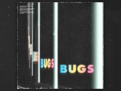 Bugs mixtapecover mixtape graphic design daily graphicdesign design covers glitch art glitchy glitch effect glitchart glitch cover design cover artwork cover art albumcoverdesign album artwork albumartwork album art album