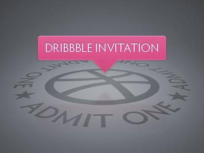 Dribbble invitation b