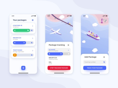 Add button interaction sketch principle illustration isomteric progress fab iphone app tracking interaction animation motion add create navigation button action