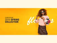 Fashion banner design sample
