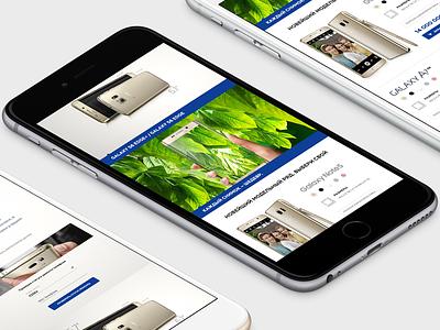 Samsung samsung web responsive mobile ux ui