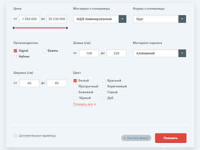 Custom filter dropdown checkbox custom filter forms form flat red grey ui web