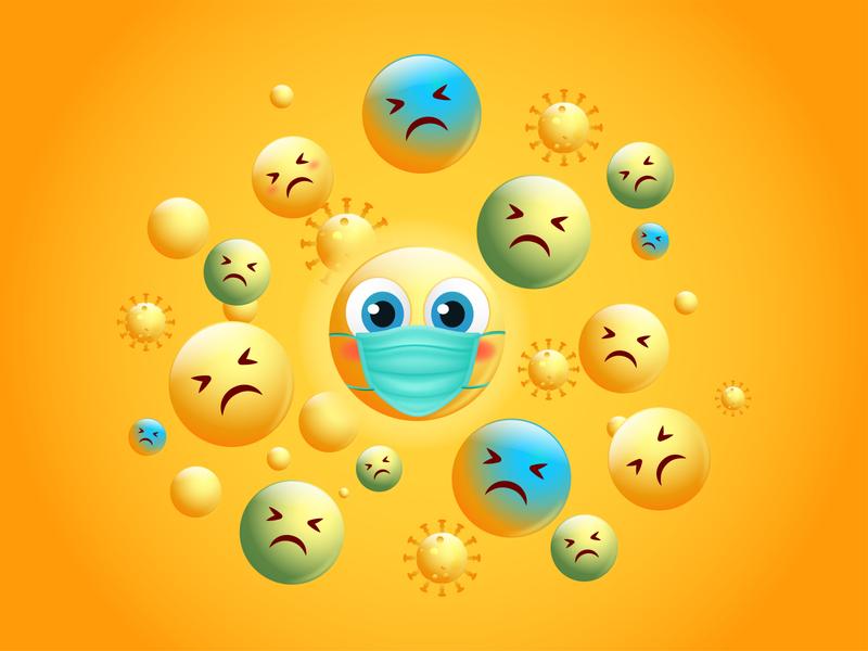 emoji Covid 19