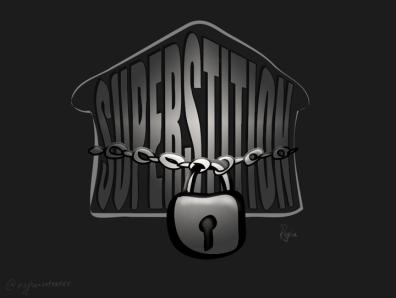 Superstition lockdown stayhome coronoavirus covid19 art quotes illustrator abstract typography illustration typographic design