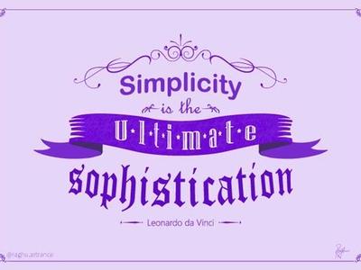 Simplicity Quote by Leonardo da Vinci