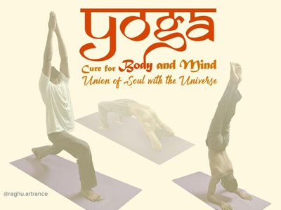 Yoga 2019 fitness spiritual artist typography yogasana yoga pose yoga