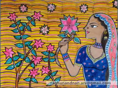 Painting art illustration design indian ink drawing illustration art patterns design indian art traditional painting indianpainting painting
