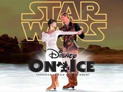 Disney's Star Wars On Ice disney ice skating tatooine