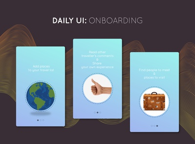 Daily UI Challenge: #023 Onboarding