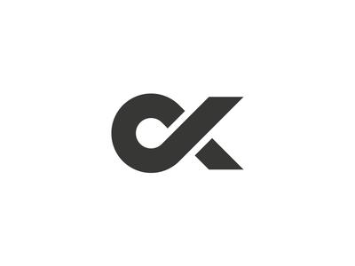 Oleksandr Khomutov — Personal Logotype personal logotype ok khomutov logo maker