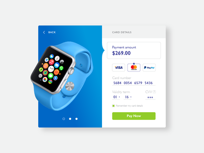 Credit Card Checkout – Daily UI #002 ux ui mobile desktop interface form checkout card credit daily challenge 002
