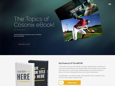 Cosonix One-Page WP Theme wordpress blog theme wordpress design wptheme onepagewptheme