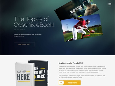 Cosonix One-Page WP Theme