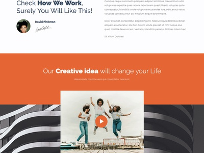 Monix - One Page Portfolio Theme