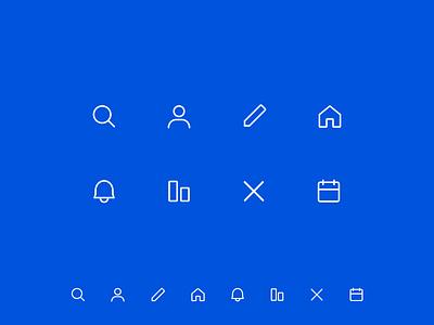 Crypto Assets Icons simple design web desgin ui clean