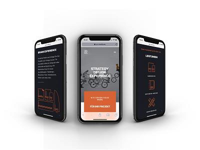 PR MEDIA Webdesign - Mobile Device corporate design website webdesign