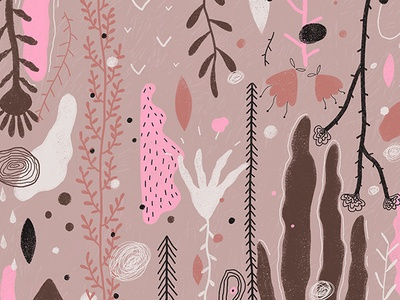 abstraction 1/3 2d digital illustration illustrator