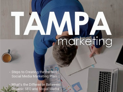 Tampa Marketing Magazine branding design florida tampa magazine marketing