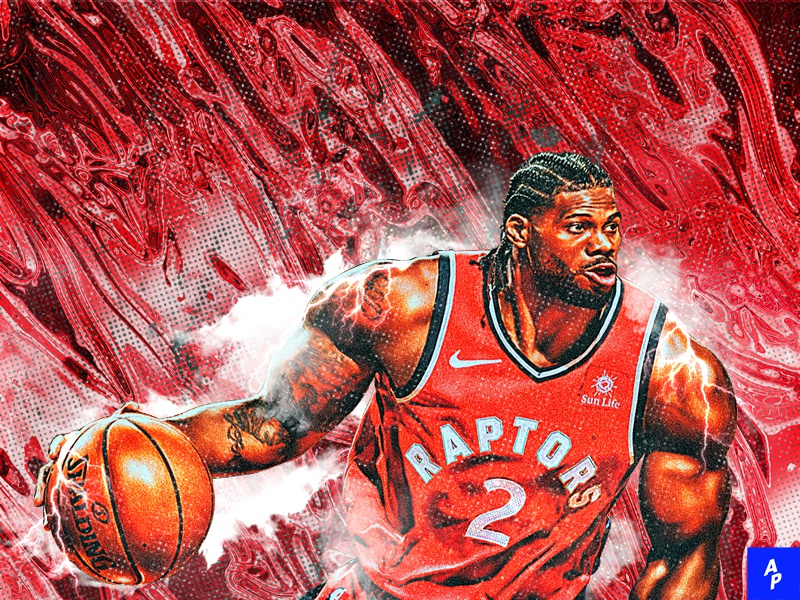 NBA Playoffs 2019 / Leonard nba nba poster basketball sports photoshop visual poster editing sports editing cartoon manipulation illustration