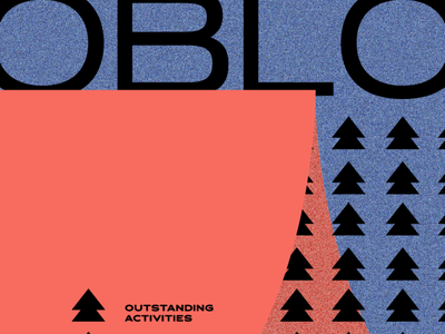 oblo | illustration creative advertising graphics brand identity logo outdoor illustration