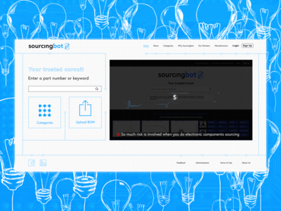 Sourcingbot Website - Your trusted curciut (Redesign)