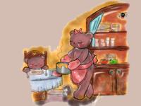 Dinner bears