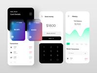 Bank mobile app design bank uxdesign ux figma app mobile design uidesign shrutiuiux dribbble