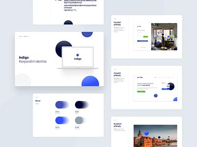 Indigo - Branding & Product Design ux app branding design ui web design web