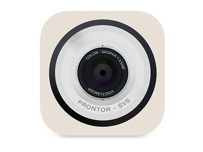 Camera icon illustration camera icon app illustration photo ios apple iphone apps detail