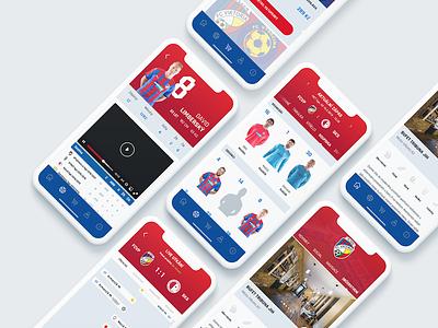 Viktoria Pilsen FC | Mobile app sport team soccer football mobile iphone ios app