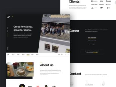 WDF | Digital agency redesign