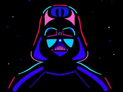 Darth Vader darthvader starwars graphicdesign vector illustration