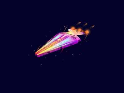 Star wats part 2 space starwars graphicdesign vector illustration