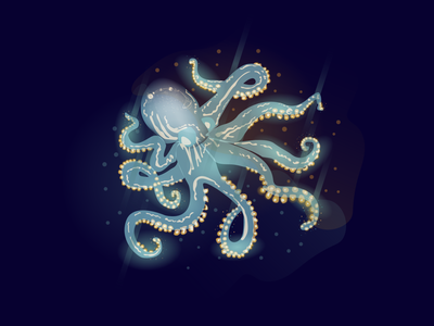Octopus oceans ocean graphicdesign vector illustration octopus