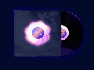 "Illustration ""Music disk"" space illustrator art illustration music"