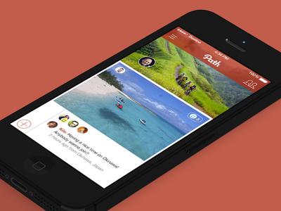 Path iOS 7 Concept